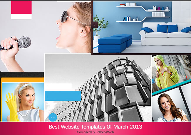 Best Website Templates Of March 2013