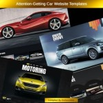 Attention-Getting Car Website Templates