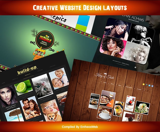 Creative Website Design Layouts