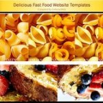 Delicious Food Website Templates