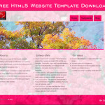 Free Html5 Website Template Download
