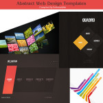 Abstract & Geometric Design Website Templates