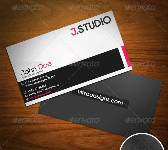 Creative business card design ideas entheos creative designer business card reheart