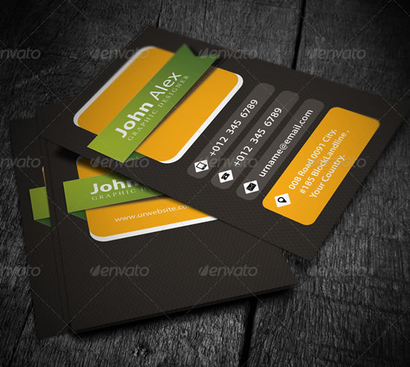 Creative business card design ideas entheos personal business card creative designer business card flashek