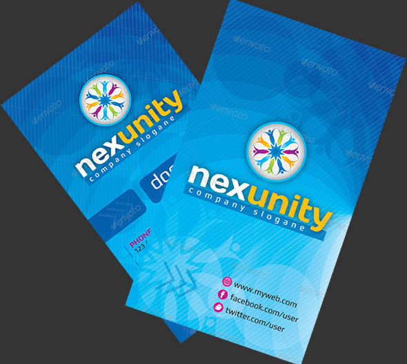 Nexunity Corporate Business Card