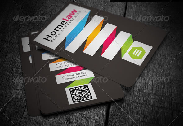 Creative business card design ideas entheos corporate business card reheart
