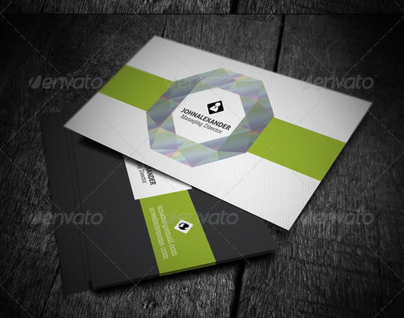 Creative Business Card Design Ideas : Entheos