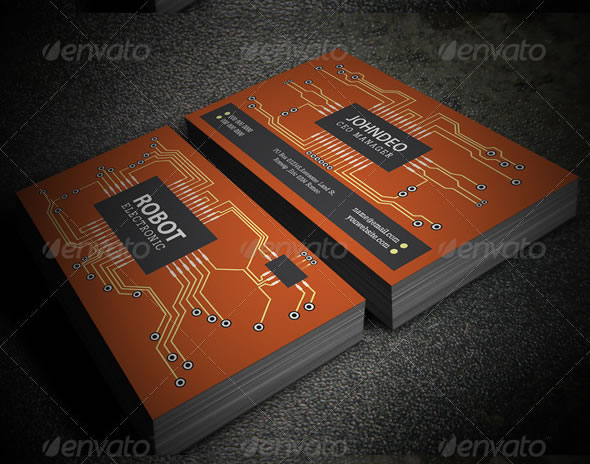 Creative business card design ideas entheos electronic business card reheart