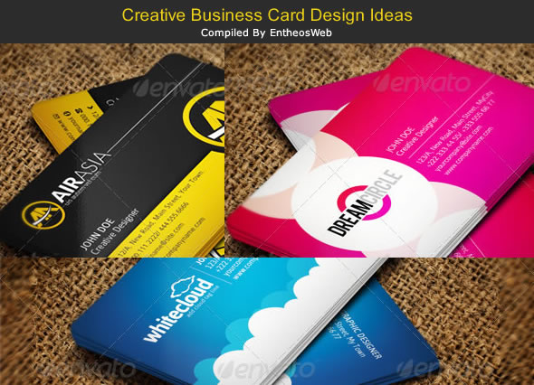 Creative business card design ideas entheos creative business card design ideas reheart Gallery