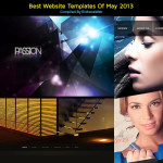 best website templates may 2013