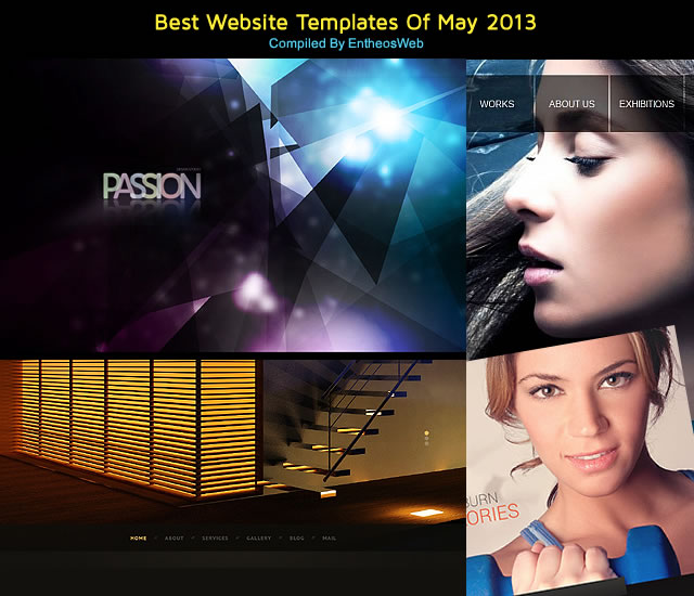 best website templates of may 2013