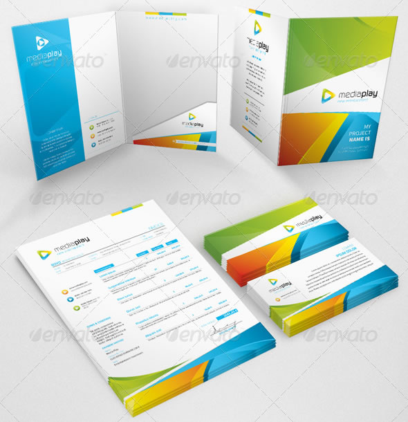 Beautiful Corporate Identity & Stationary Design Templates | Entheos