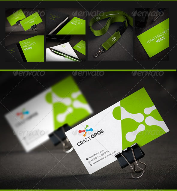 Corporate Identity Mock Up