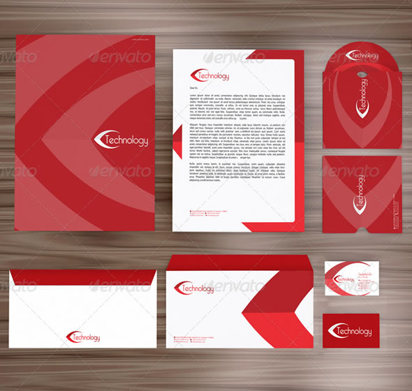 beautiful corporate identity  u0026 stationary design templates