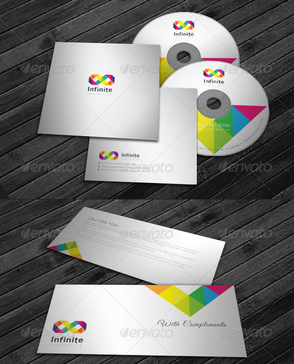 Corporate Identity Package - Infinite