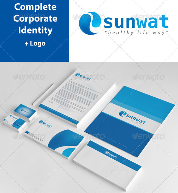 Sunwat Corporate Identity Package