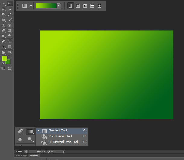 how to add to bottom of canvas photoshop