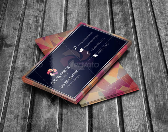 Abstract Creative Business Card