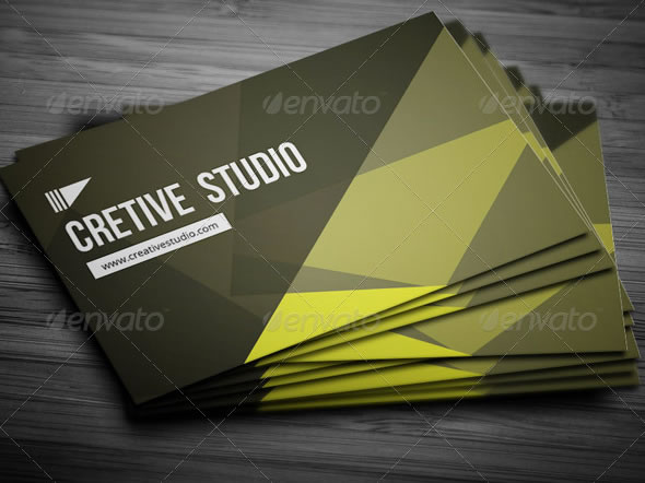 Creative Abstract Business Card - 15