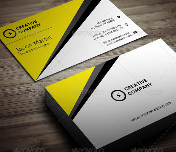 Creative Business Card - 12