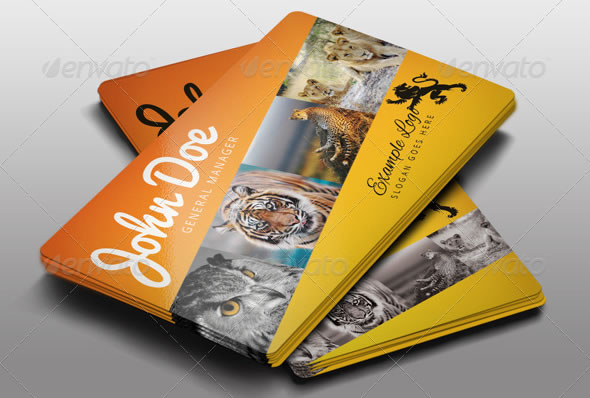 creative abstract business card designs
