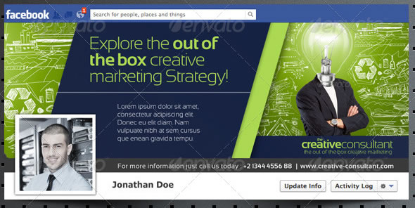 The Amazing Corporate FB Timeline 01