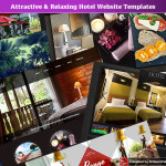 Attractive & Relaxing Hotel Website Templates