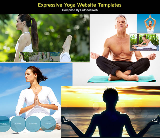Expressive Yoga Website Templates