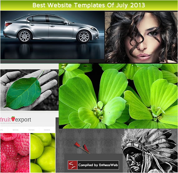 Best Website Templates Of July 2013