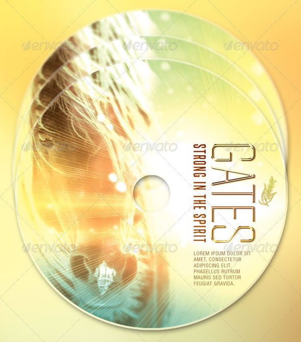 Christian Band CD Artwork Template