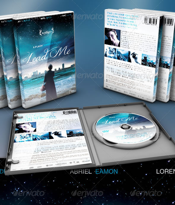 Lead Me DVD Artwork Template