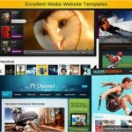 Excellent Media Website Templates