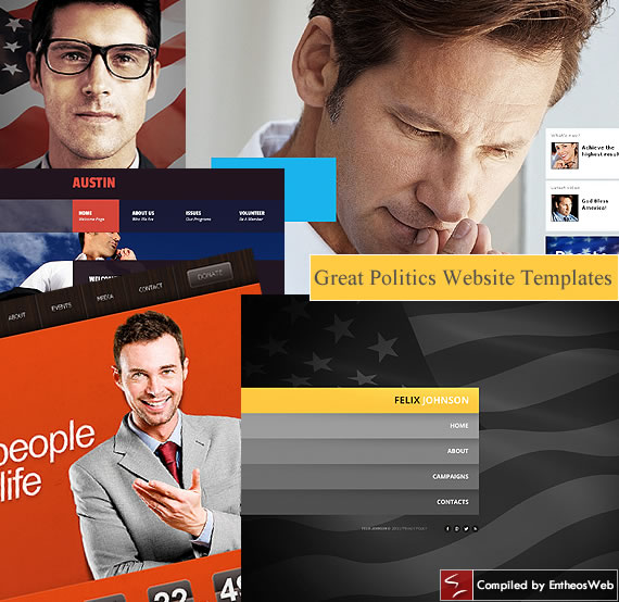 Great Politics Website Templates