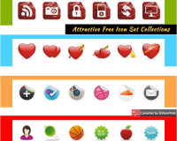Attractive Free Icon Set Collections