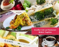 Excellent Cafe and Restaurant Website Templates