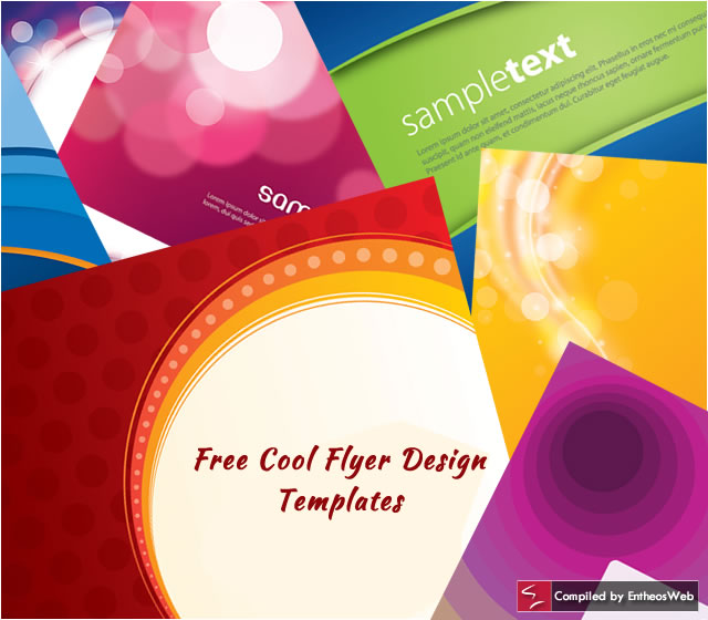 Free cool flyer design templates entheos Blueprint designer free
