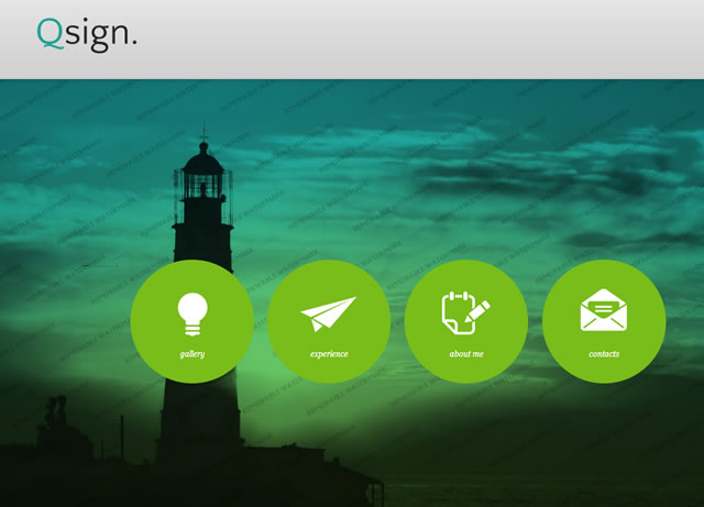Web Design Ideas Using Icons Entheos - Template based web design