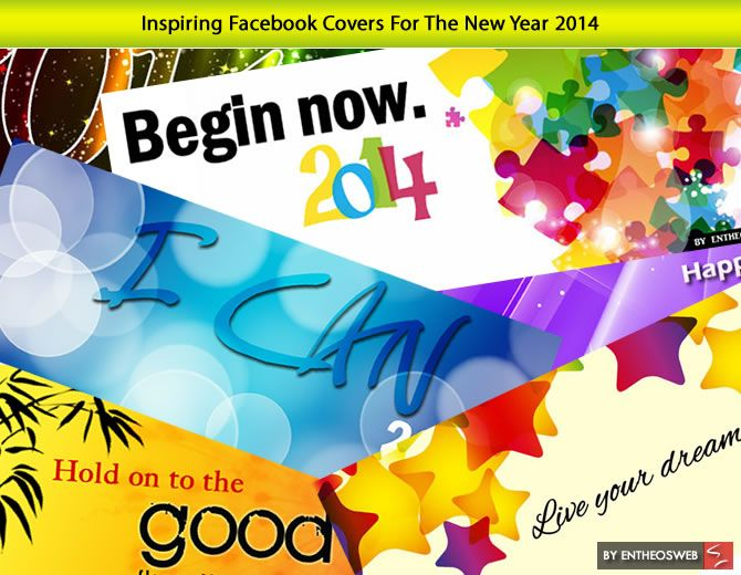 Inspiring Facebook Covers For The New Year 2014