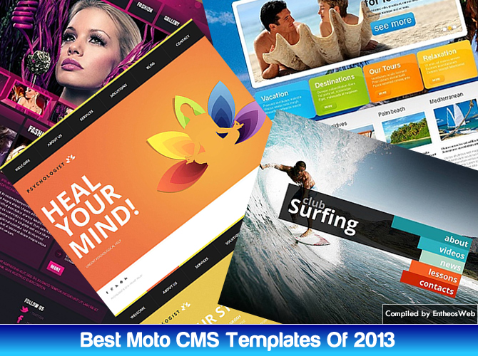 Best Moto CMS HTML Templates Of 2013