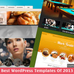 best wordpress templates of 2013