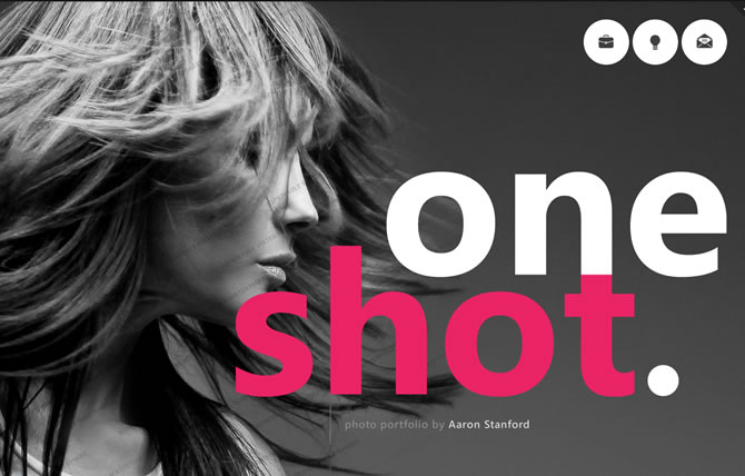 Template 45863 - One Shot Website Template