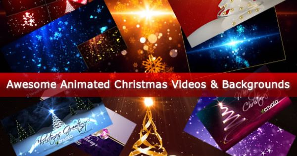 awesome animated christmas videos backgrounds entheos - Animated Christmas Pictures