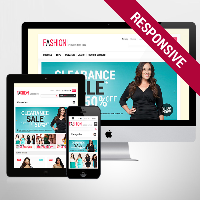 Template 47301 - Fashion Clothes Responsive PrestaShop Theme