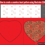 How to create a seamless heart pattern using Illustrator CS6