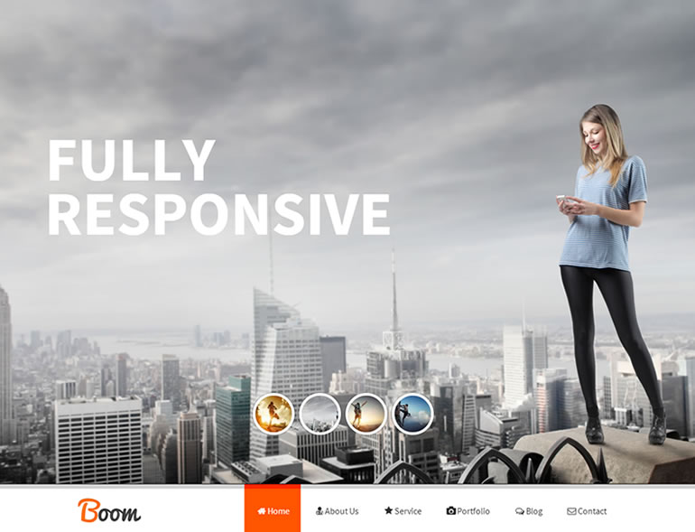 Boom - Responsive Onepage Drupal Theme