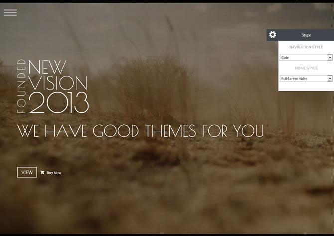 NewVision - Responsive Parallax One Page Template
