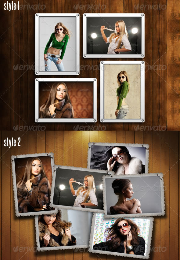 Photo Frames Pack 10