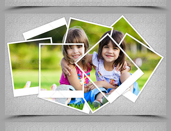 Photo Frame Template V3