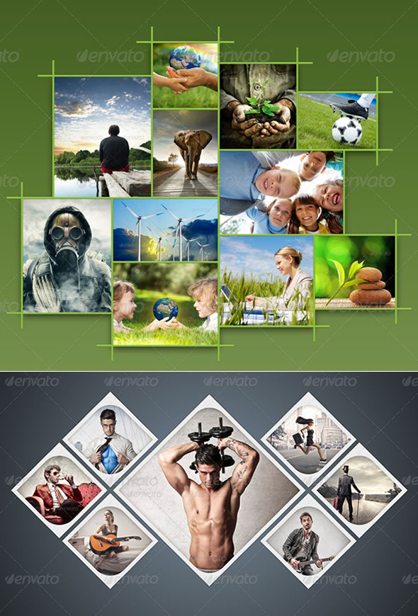 Amazing Collage Templates in Photoshop | EntheosWeb