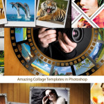 Amazing Collage Templates in Photoshop